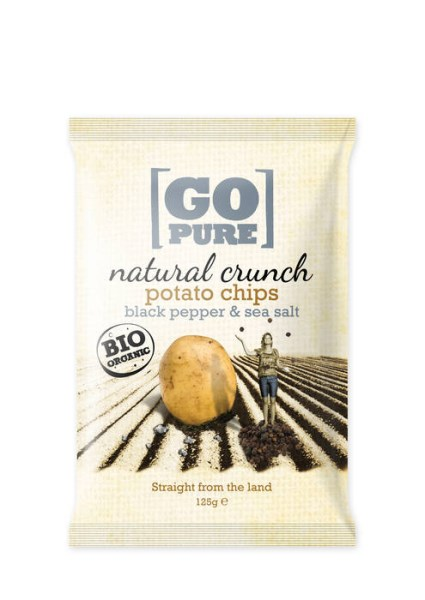 LOGO_GoPure organic natural crunch chips black pepper & sea salt