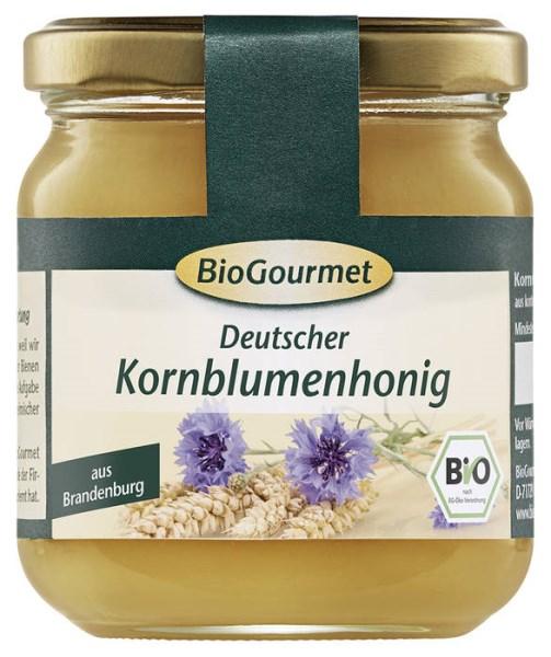 LOGO_BioGourmet Cornflower Honey (Centaurea cyanus)