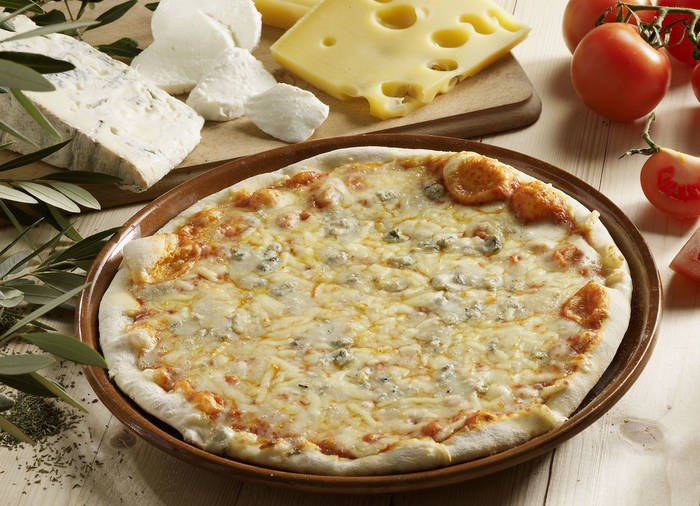 LOGO_ORGANIC 3 CHEESES WOOD-FIRED PIZZA 350G