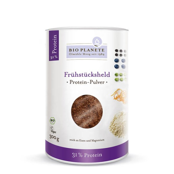 "LOGO_BIO PLANÈTE Protein Powder ""Breakfast Champion"" 300 g"