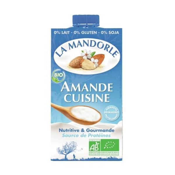 """LOGO_Mandelcreme : """"Kochmandeln"""""""
