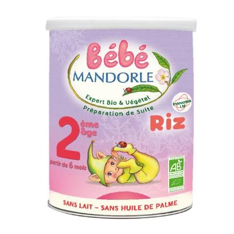 LOGO_Bébé Mandorle Infant Vegetal Organic Follow on Formula Stage 2 - 6 months to 1 year