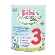 LOGO_Bébé Mandorle ab 10 Monate Getreidebeikost Mit Proteinzusatz Ab 6 Monate