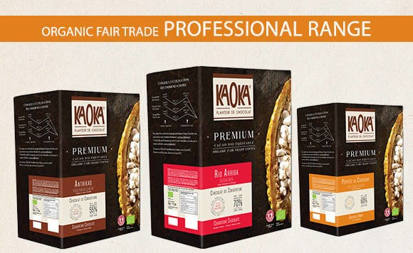 LOGO_Kaoka organic fairtrade professional range