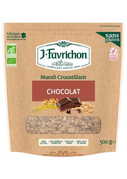LOGO_Muesli Croustillant Chocolat Châtaigne – Sans Gluten