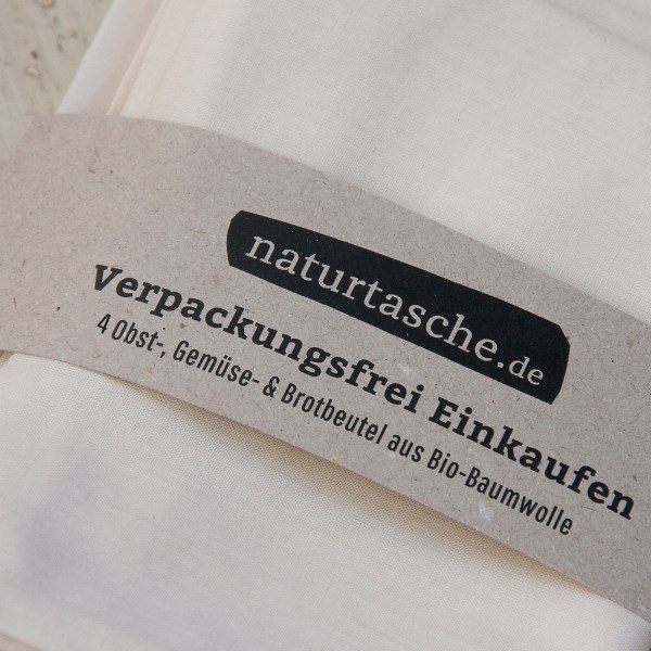 LOGO_naturtasche 4er Set ZeroWaste