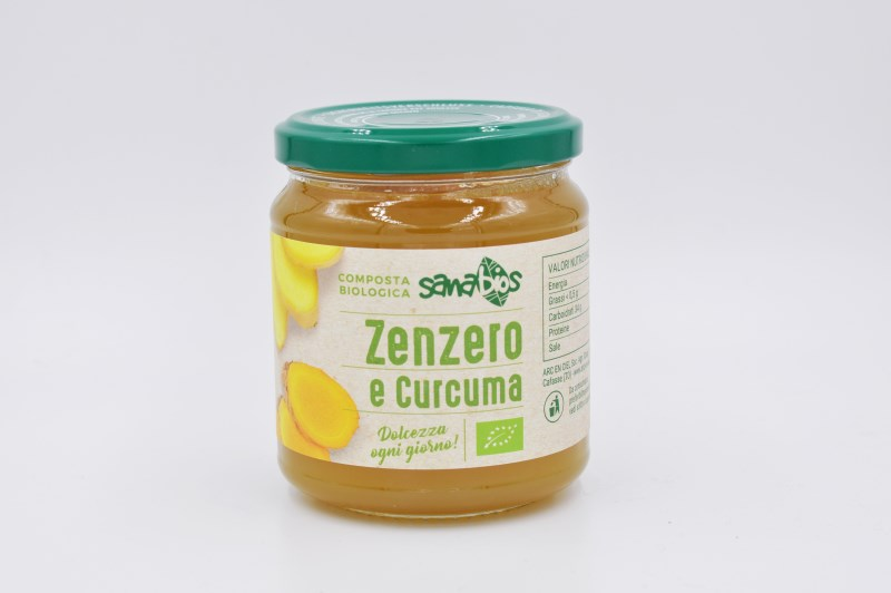 LOGO_Organic ginger and turmeric fruit spread