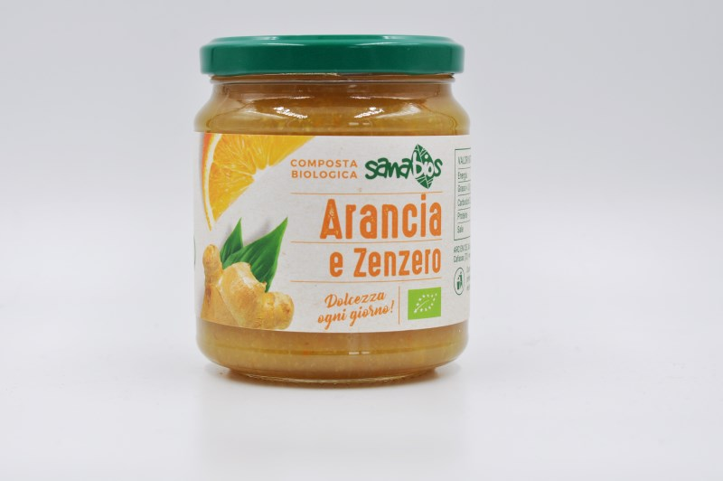 LOGO_Organic Orange and ginger fruit spread