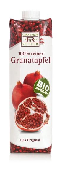 LOGO_BIO Granatapfelsaft aus 100% Granatapfelsaftkonzentrat