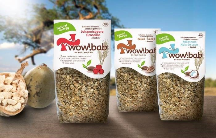 LOGO_wow!bab organic muesli  red currant -  with sprouted seeds and baobab