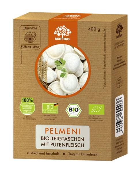 """LOGO_""""Pelmeni"""" Bio-Teigtaschen mit Putenfleisch"""