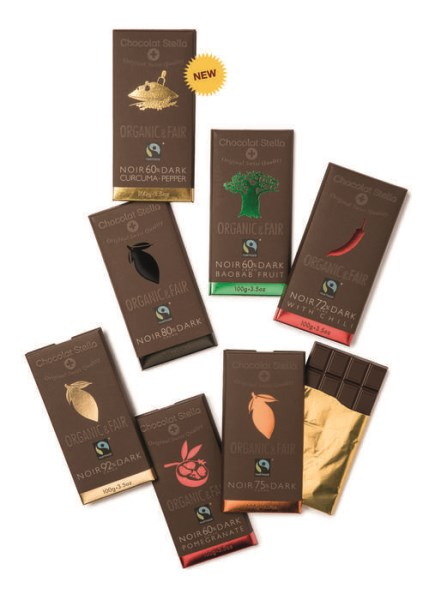 LOGO_Organic & Fair - Dark Chocolate