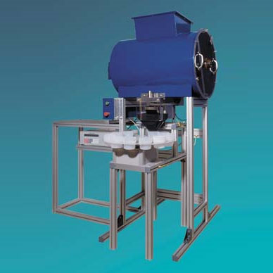 LOGO_Gravimetric – Dosing - unit with Agitator Drum and Turntable Type DW 0.5 / T-200
