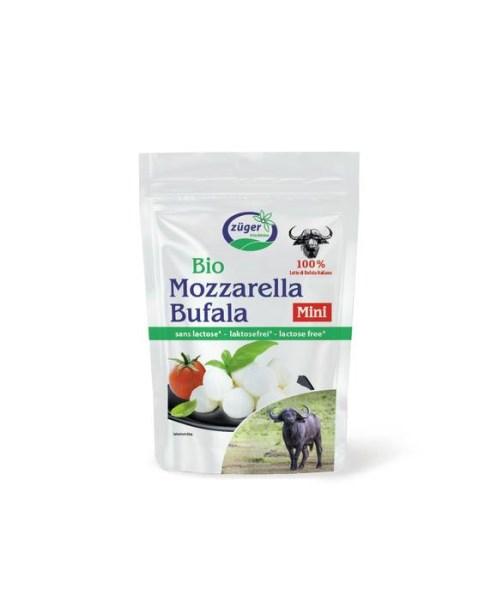 "LOGO_Lactose-free buffalo Mozzarella ""mini"""