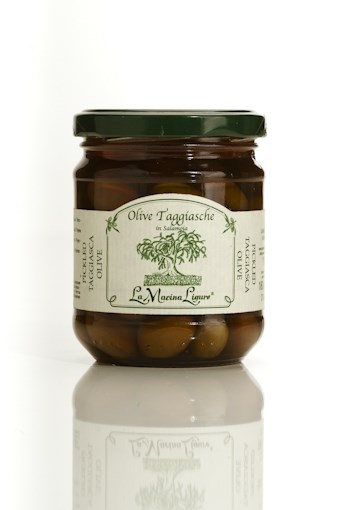 LOGO_Taggiasca Olives in Extra Virgin Olive Oil