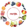 LOGO_Organic Apple-Red Fruit Juice under the brandname FREYA