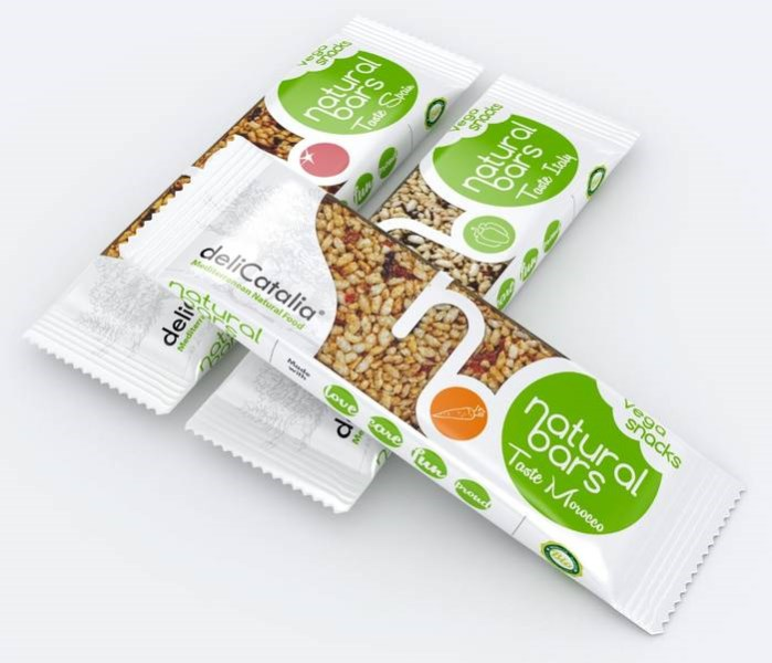 "LOGO_Organic Puffed Rice Bar ""Taste"""