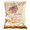 LOGO_Happy Pop Corn & Rice Chips with Mediterrean Herbs  not fried,  gluten free