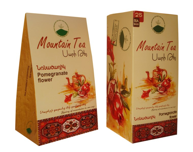 LOGO_Mountain Tea Pomegranate Flower