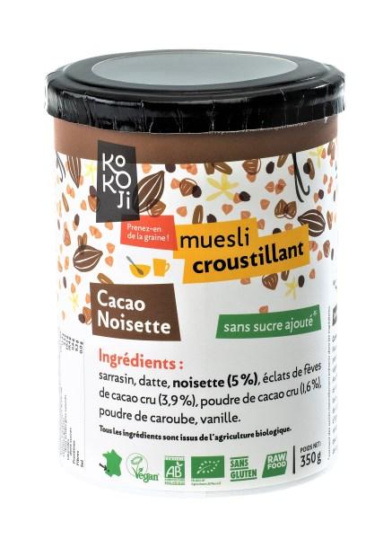 LOGO_Roh Knuspermüsli Kakao und Nüsse