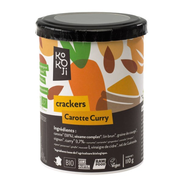 LOGO_Raw vegan carot and curry crackers
