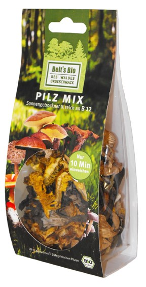 LOGO_Organic wild mushrooms, dried