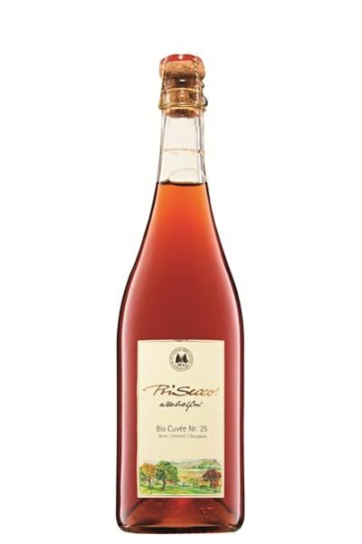LOGO_PriSecco Bio Cuvée Nr. 25 Pear I Sloe I Douglas fir