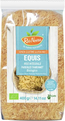 LOGO_Res Novae® Equis: a new way to propose PARBOILED rice