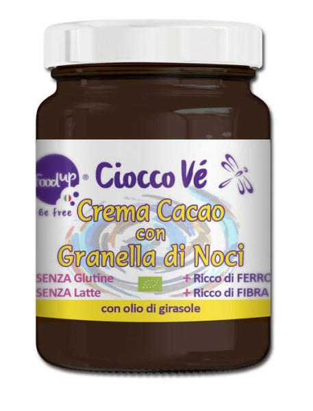LOGO_CIOCCOVÈ - SPREADABLE CREAM COCOA WITH CHOPPED WALNUTS