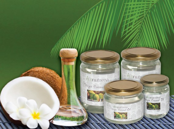 LOGO_Organic and fair trade virgin coconut Oil
