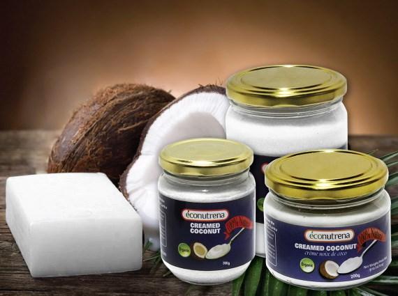 LOGO_Organic and fair trade creamed coconut