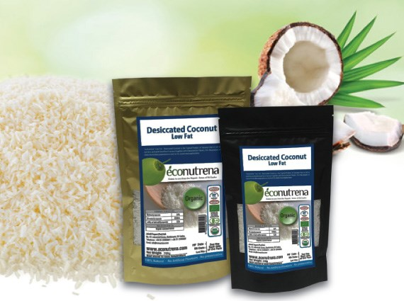 LOGO_Organic and fair trade low fat DC coconut