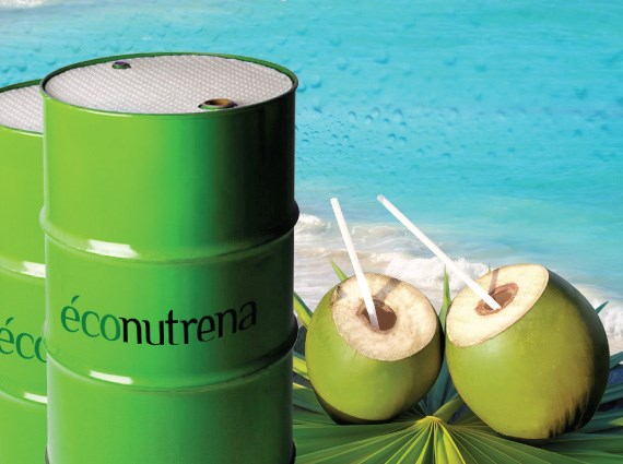 LOGO_Organic and fair trade coconut water