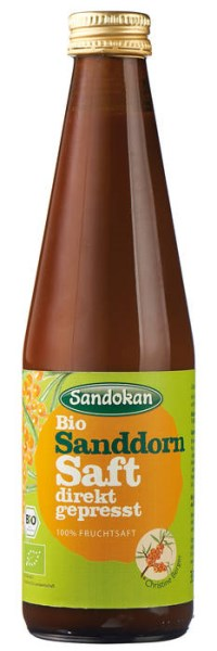 LOGO_Bio Sanddornsaft direkt gepresst 100 % (ohne Zuckerzusatz)