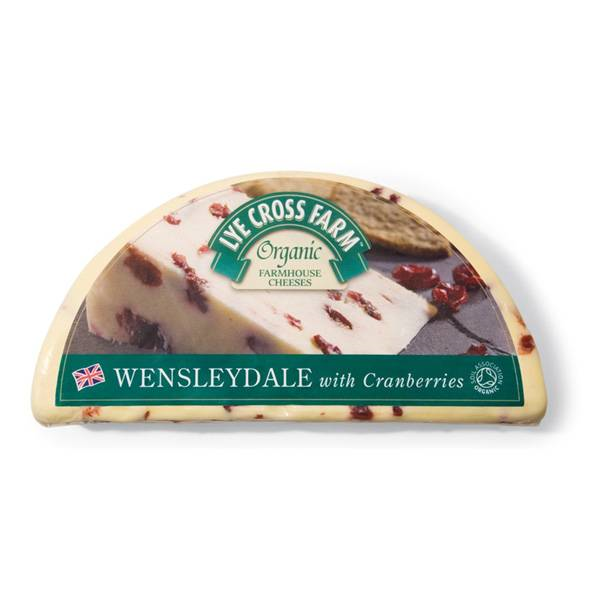 LOGO_Lye Cross Farm Organic Wensleydale with Cranberries