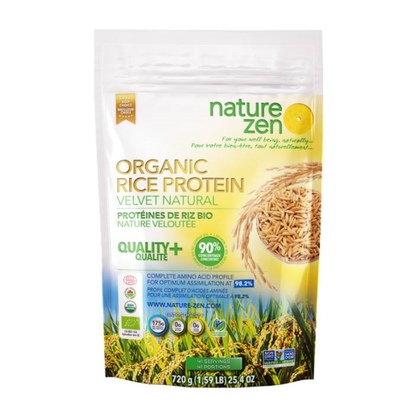 LOGO_NATURE ZEN Organic Rice Protein, Velvet Natural