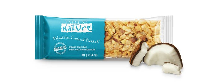 LOGO_Taste of Nature - Polynesian Coconut Breeze - Organic Snack Bar