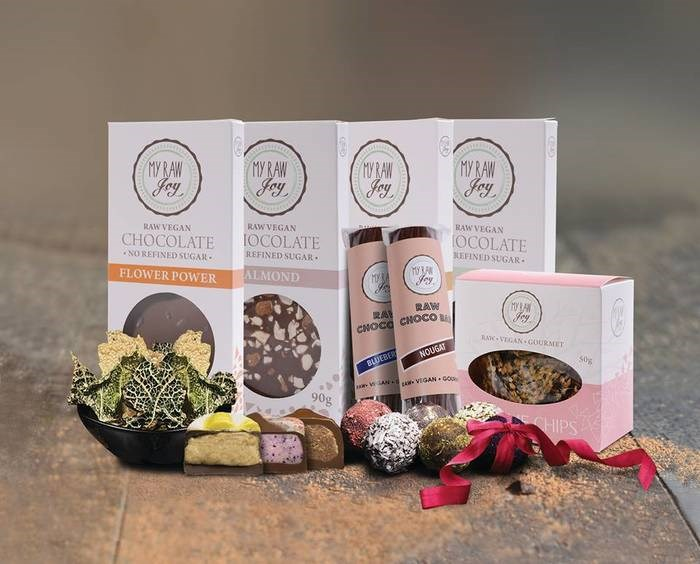 LOGO_Raw vegan gourmet products by My Raw Joy