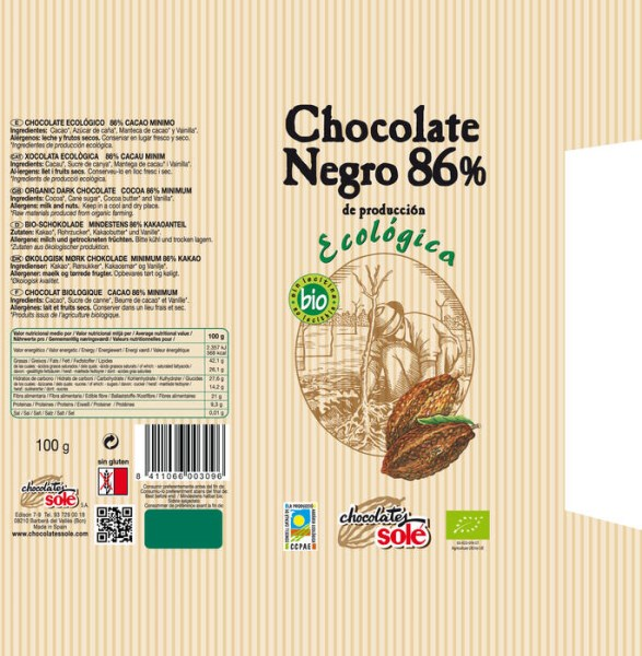 LOGO_Organic Dark Chocolate Cocoa 86%