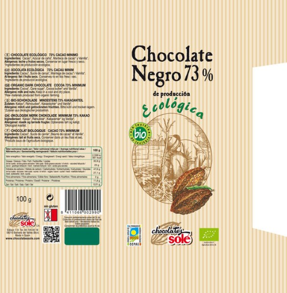 LOGO_Organic Dark Chocolate Cocoa 73%