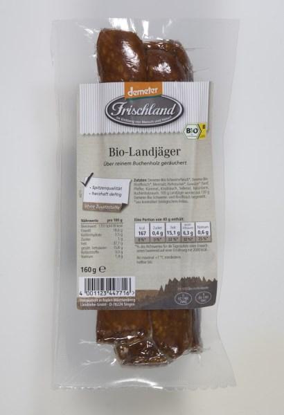 LOGO_Frischland Demeter Bio-Landjäger 4 x 40g