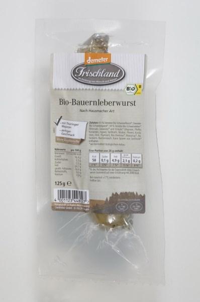 LOGO_Frischland Demter Bio-Bauernleberwurst 125g