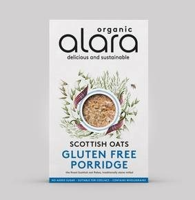 LOGO_Alara Organic Gluten Free Scottish Oats Porridge