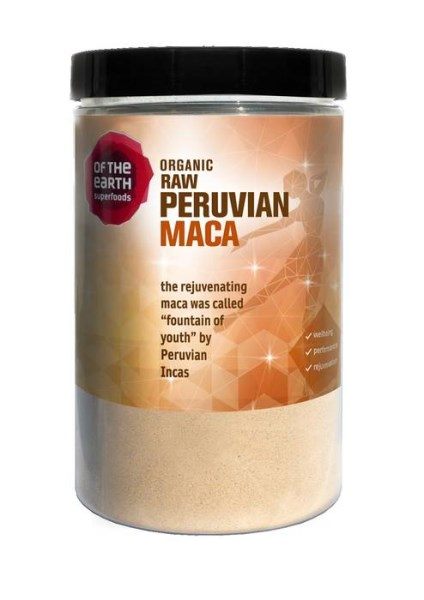 LOGO_Of the Earth Superfoods Organic Raw Peruvian Maca
