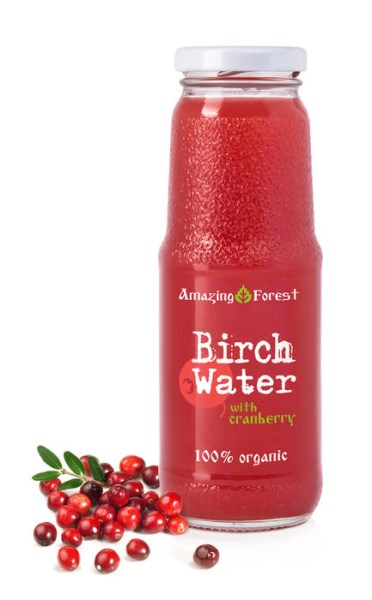 LOGO_Organic Birch Water with Cranberry