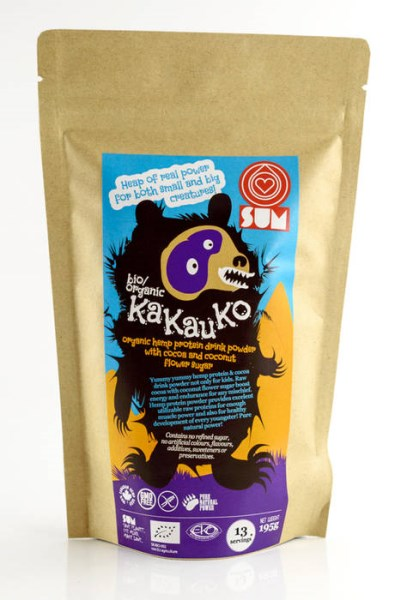 LOGO_SUM bio/organic KaKauKo - organic hemp drink powder with cocoa and coconut flower sugar