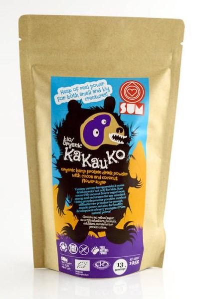 LOGO_SUM bio/organic KaKauKo – organisches Hanf-Getränkepulver mit Kakao und Kokosnussblütenzucker