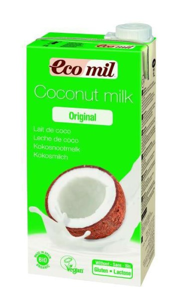 LOGO_EcoMil Coconut milk agave Bio 1 L