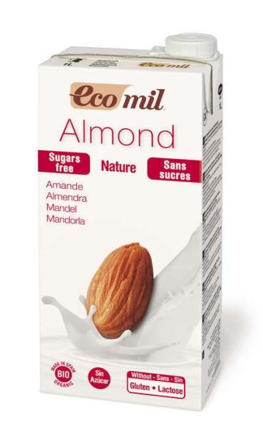 LOGO_EcoMil Almond milk sugar-free Bio 1 L