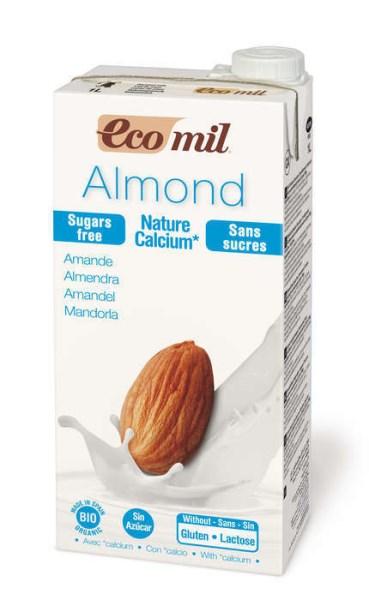 LOGO_Ecomil Mandelmilch zuckerfrei Calcium Bio 1 L